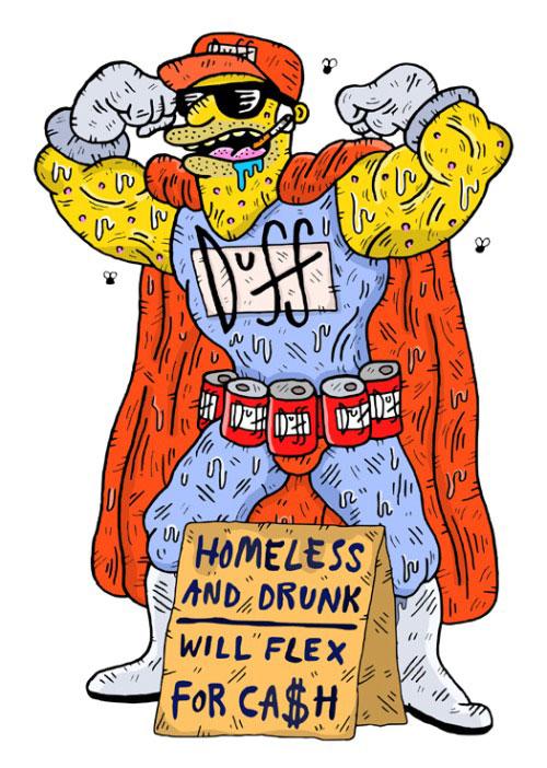 Бездомный Даффмен