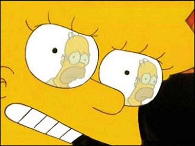 Гомер в глазах Лизы Симпсон