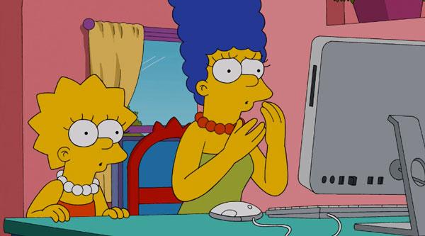 Мардж играет в фэнтези футбол