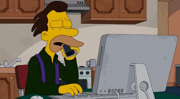 Ленни звонит Гомеру
