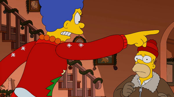 Мардж выгоняет Гомера из дома