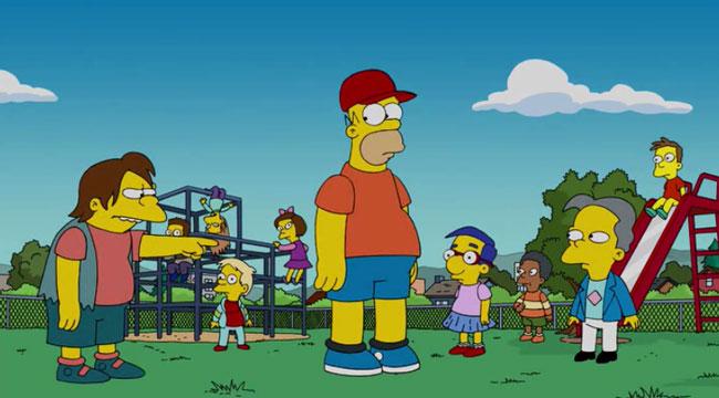Гомер в школе