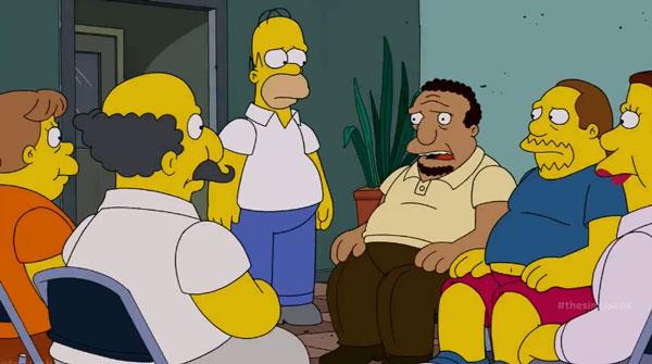 Гомер и толстяки