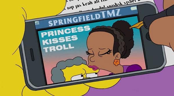 Принцесса целует тролля