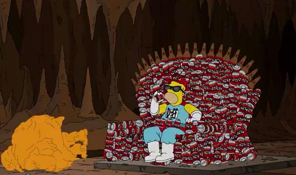 Гомер - новый Даффмен