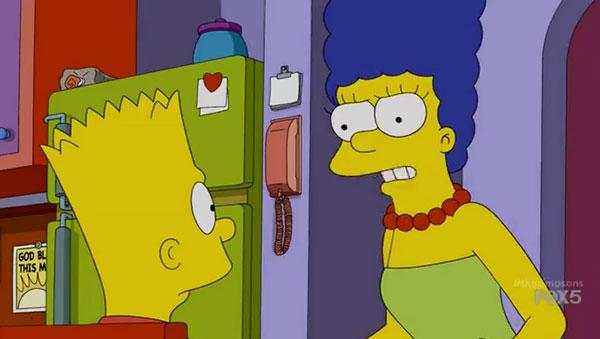 Барт и Мардж