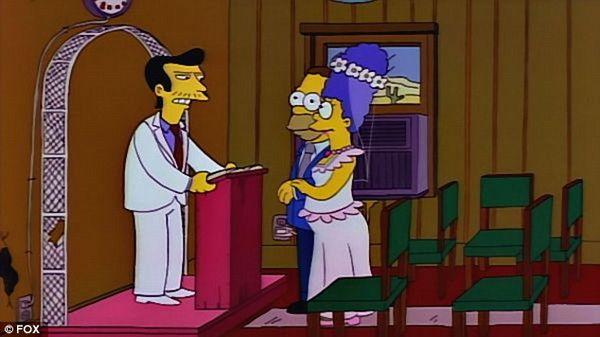 Мардж и Гомер женятся