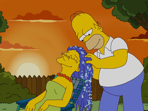 Гомер и Мардж наедине