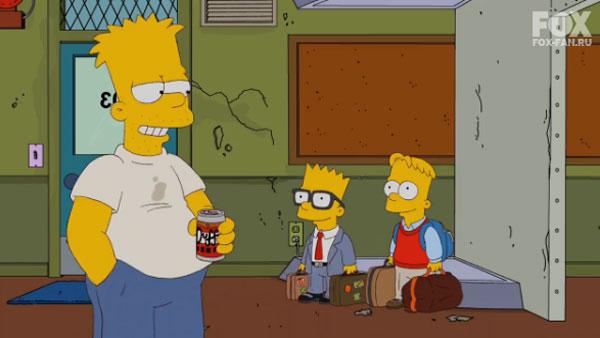 Барт в Будущем