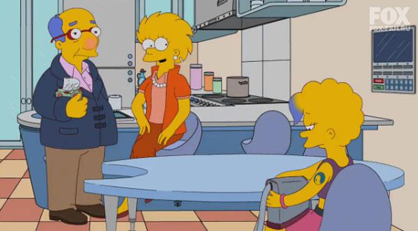 Лиза Симпсон в будущем