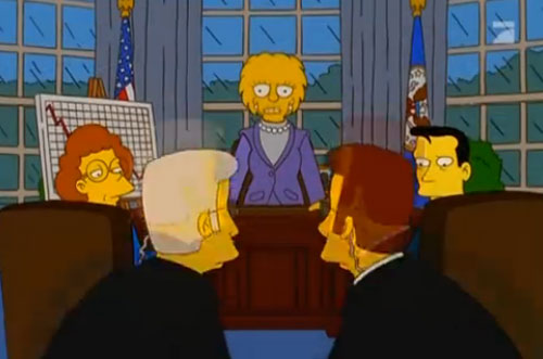 Лиза Симпсон президент США