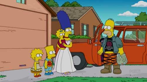 Гомер едет за стиральной машиной