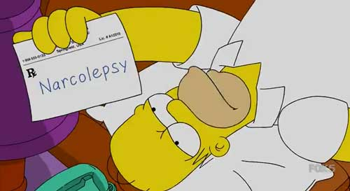 Нарколепсия у Гомера