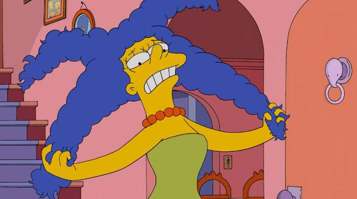 Мардж испугалась