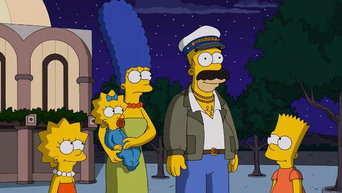 Гомер в роли грека