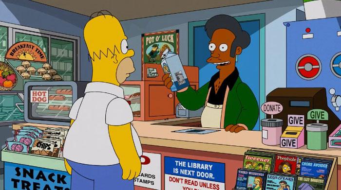Гомер покупает молоко