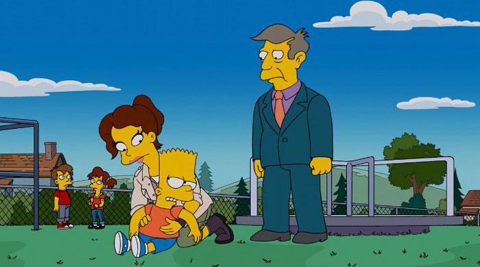 Барт и учительница Берера