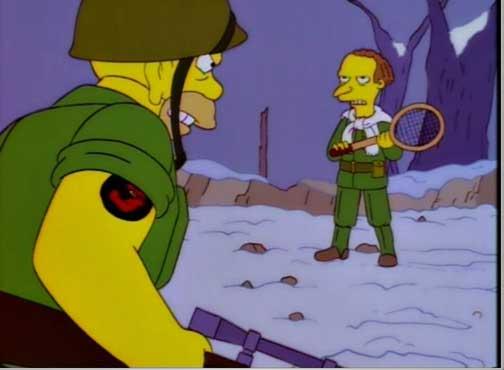 Симпсон на войне