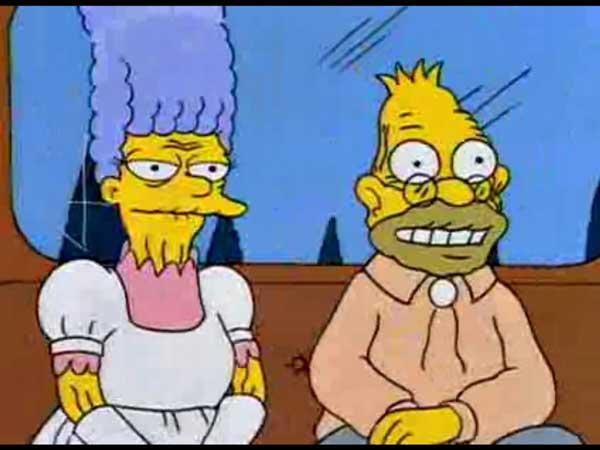 Абрахам Симпсон женится