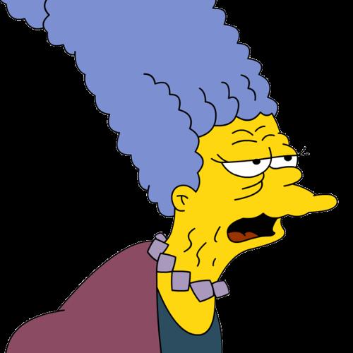 Абрахам Симпсон женится на Бувье