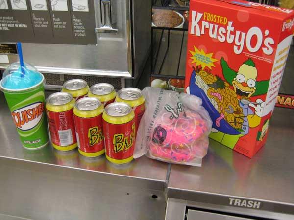 Продукты в магазине Апу