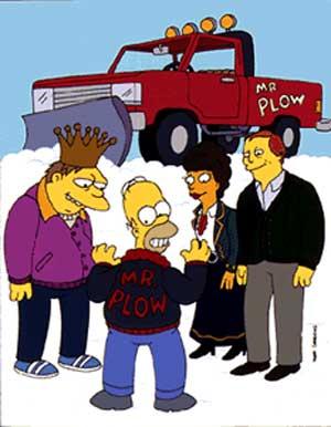 Барни, Гомер и мистер Плоу