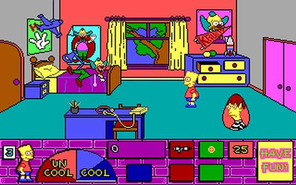 Игра Симпсоны: странный дом Барта