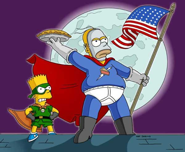 Гомер супергерой El Homo