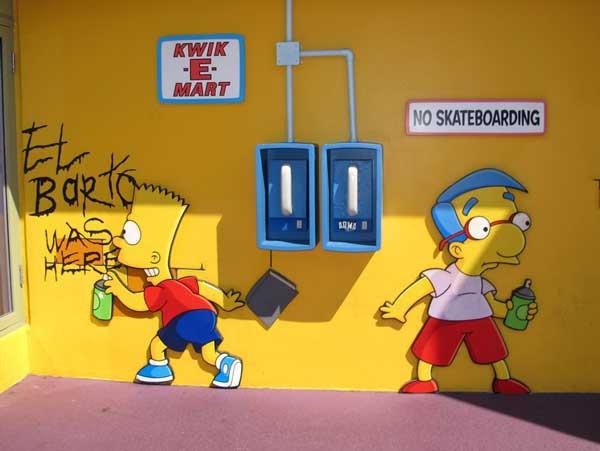 Барт рисует El Barto