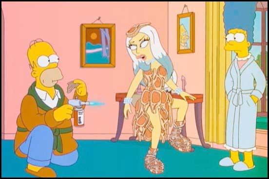 Гомер с другой женщиной