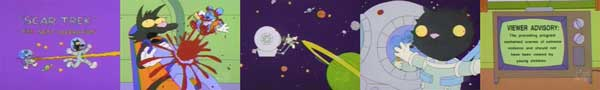 Щекотка и Царапка в космосе
