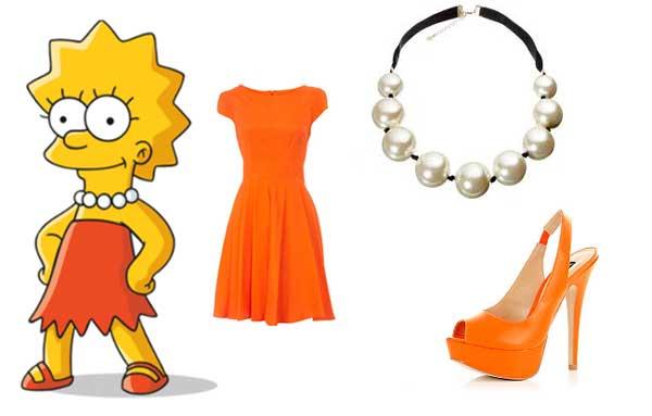 Лиза Симпсон в платье
