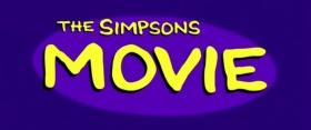 Симпсоны в кино логотип