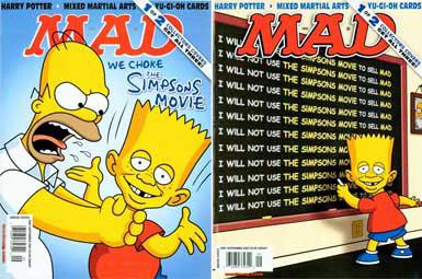Симпсоны на обложке журнала