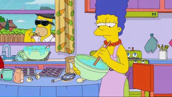 Мардж готовит