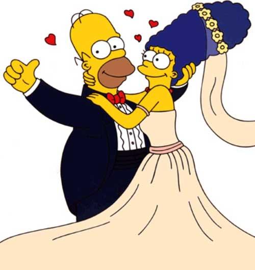 Свадьба Мардж и Гомера