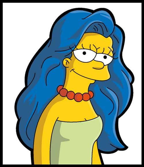Мардж молодая