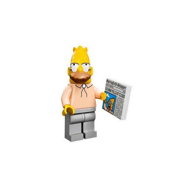 Лего дедушка Симпсон