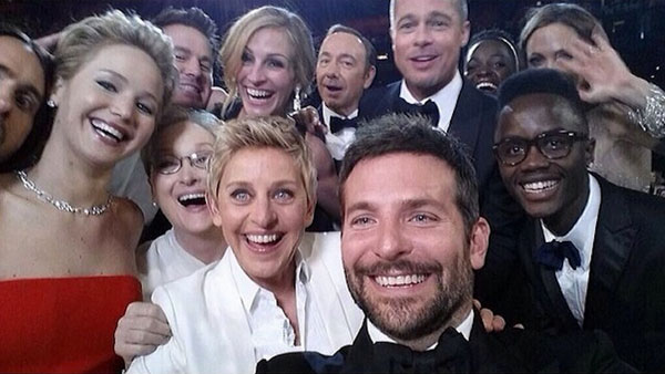 Селфи Оскар 2014