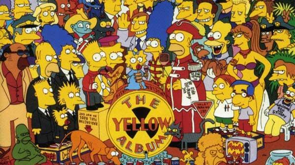 Симпсоны желтый альбом