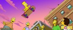 Голый Барт на скейте