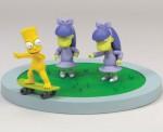 Фигурка голый Барт на скейте
