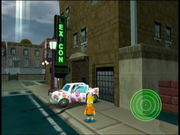 Игра The Simpsons: Hit and Run 2