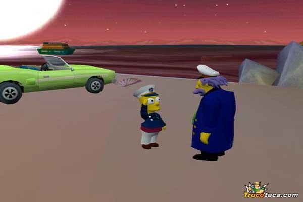 Игра The Simpsons: Hit and Run 5