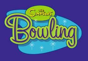 Игра The Simpsons Bowling