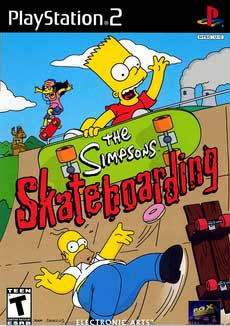 Игра The Simpsons Skateboarding