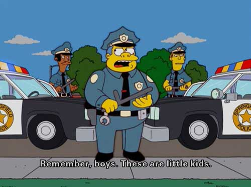 Полиция Спрингфилда